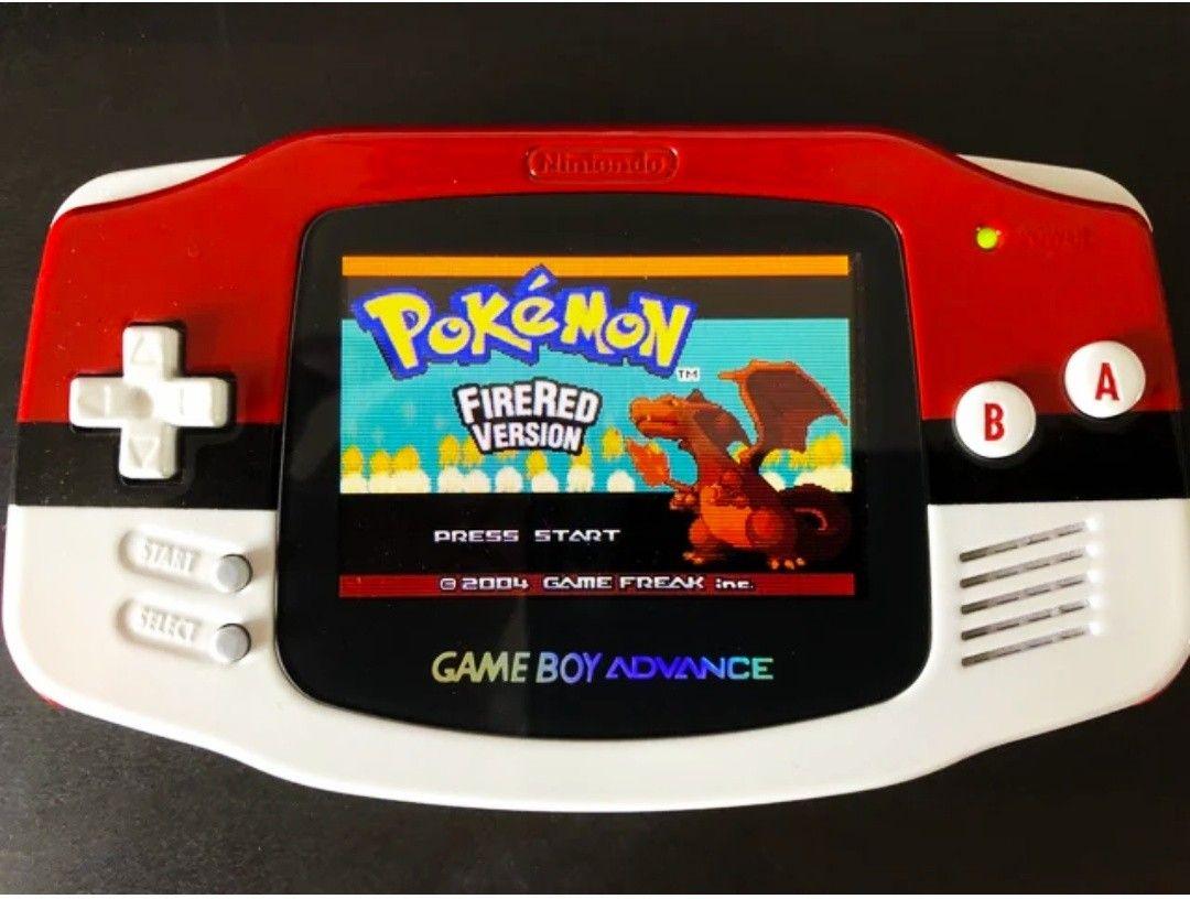 Gba game boy advance custom shell mod Pokemon | Tech | Nintendo