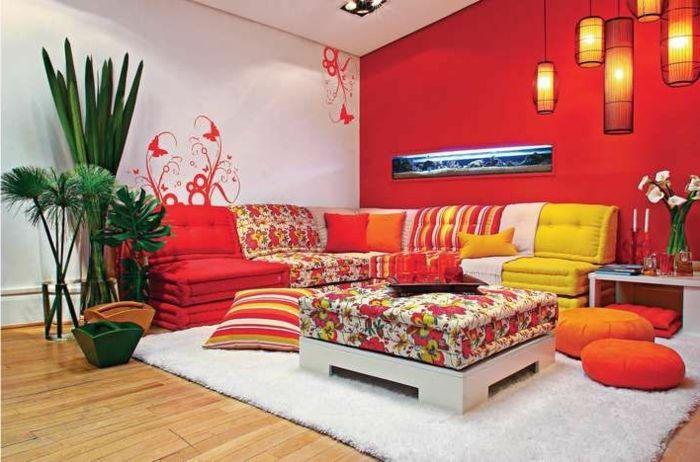 Le canapé marocain qui va bien avec votre salon | Interior design ...