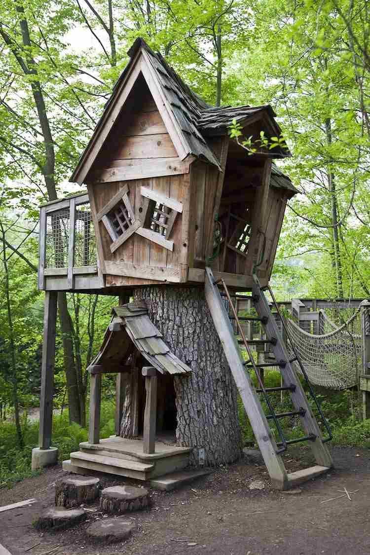 d couvrez dans notre galerie la cabane dans les arbres de. Black Bedroom Furniture Sets. Home Design Ideas