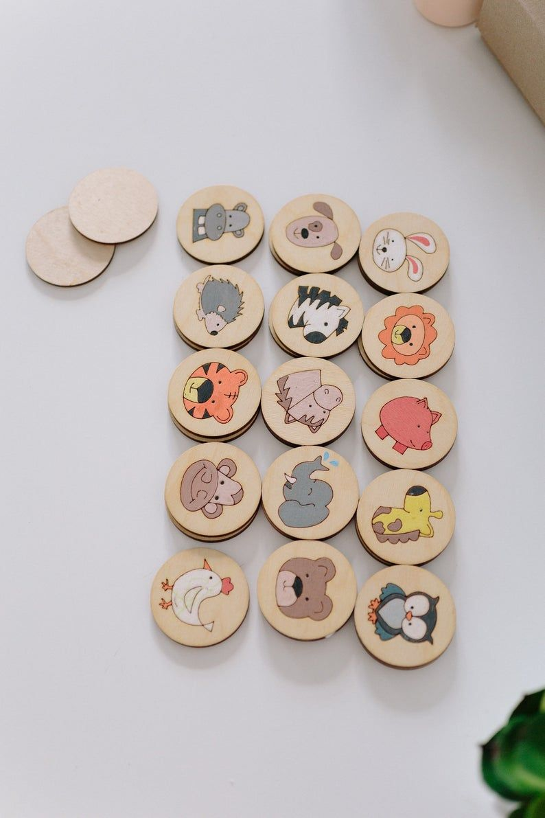 Photo of Juego de memoria Juego de mesa juguetes educativos Montessori Early Learning Busy Bolsa