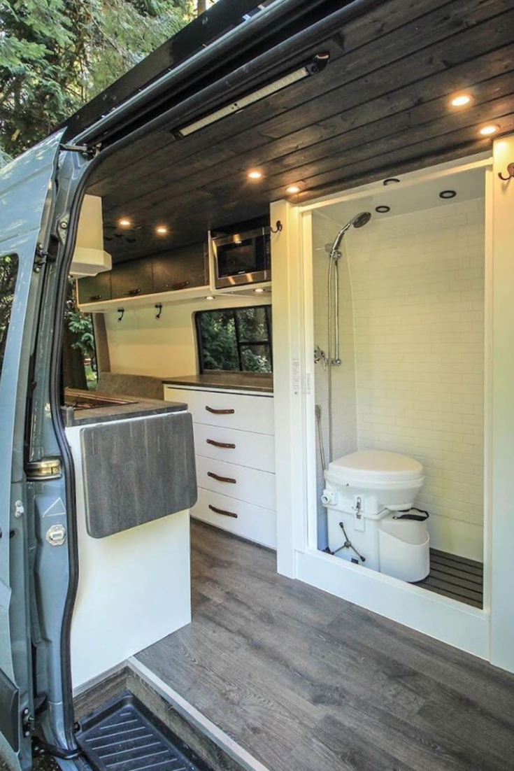 50 Amazing Camper Van Interior Ideas Van Interior Small