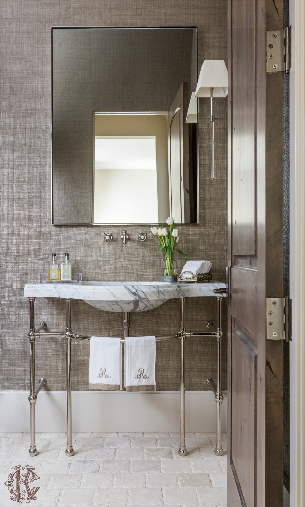 Projects — Kara Childress, Inc. French country bathroom