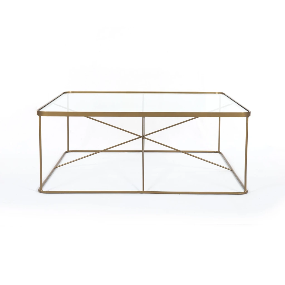 Lucas Square Coffee Table In Antique Brass In 2021 Coffee Table Square Brass Coffee Table Coffee Table Pottery Barn [ 1000 x 1000 Pixel ]