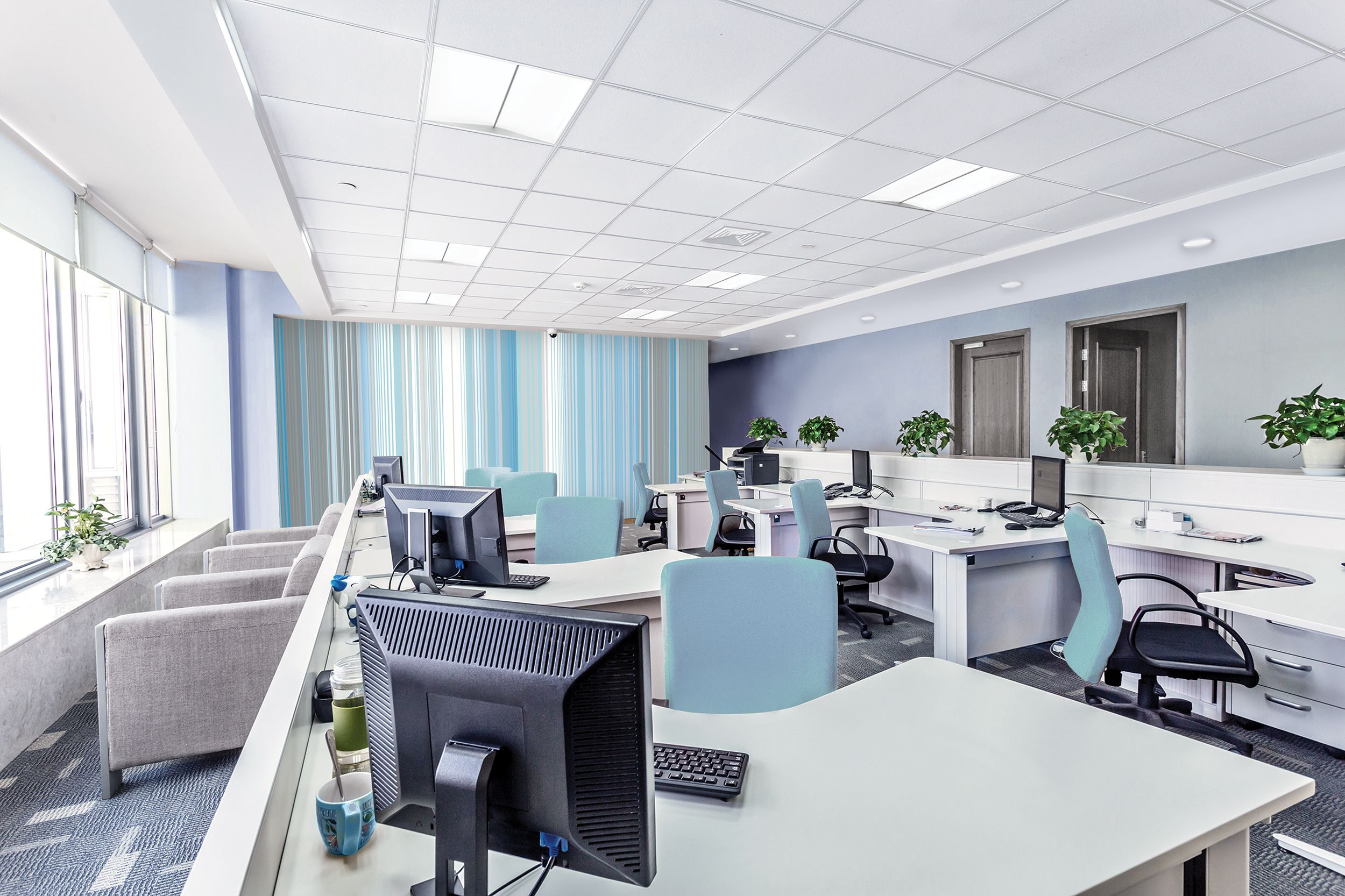 Discreet, comfortable lighting with great performance - Philips Ledalite SilkSpace LED #EnhanceYourSpaceContest #PhilipsSilkSpace #LowGlare
