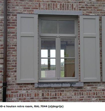 RAL 7044 SILK GREY window & shutters - #fassade #grey #RAL #shutters #SILK #Window #greyexteriorhousecolors