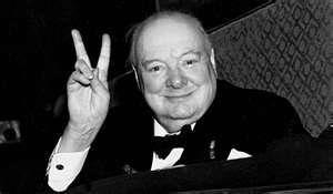 V For Vincent Winston Churchill Photos Winston Churchill