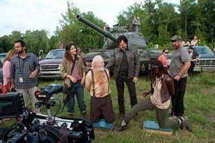 The Walking Dead Season 4 Mid Season Finale behind the scenes
