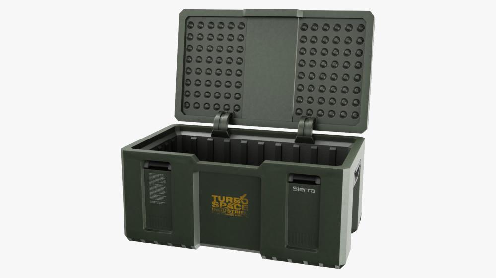 Weapon Box Pbr 3d Model Crates Loot Crate 3d Model