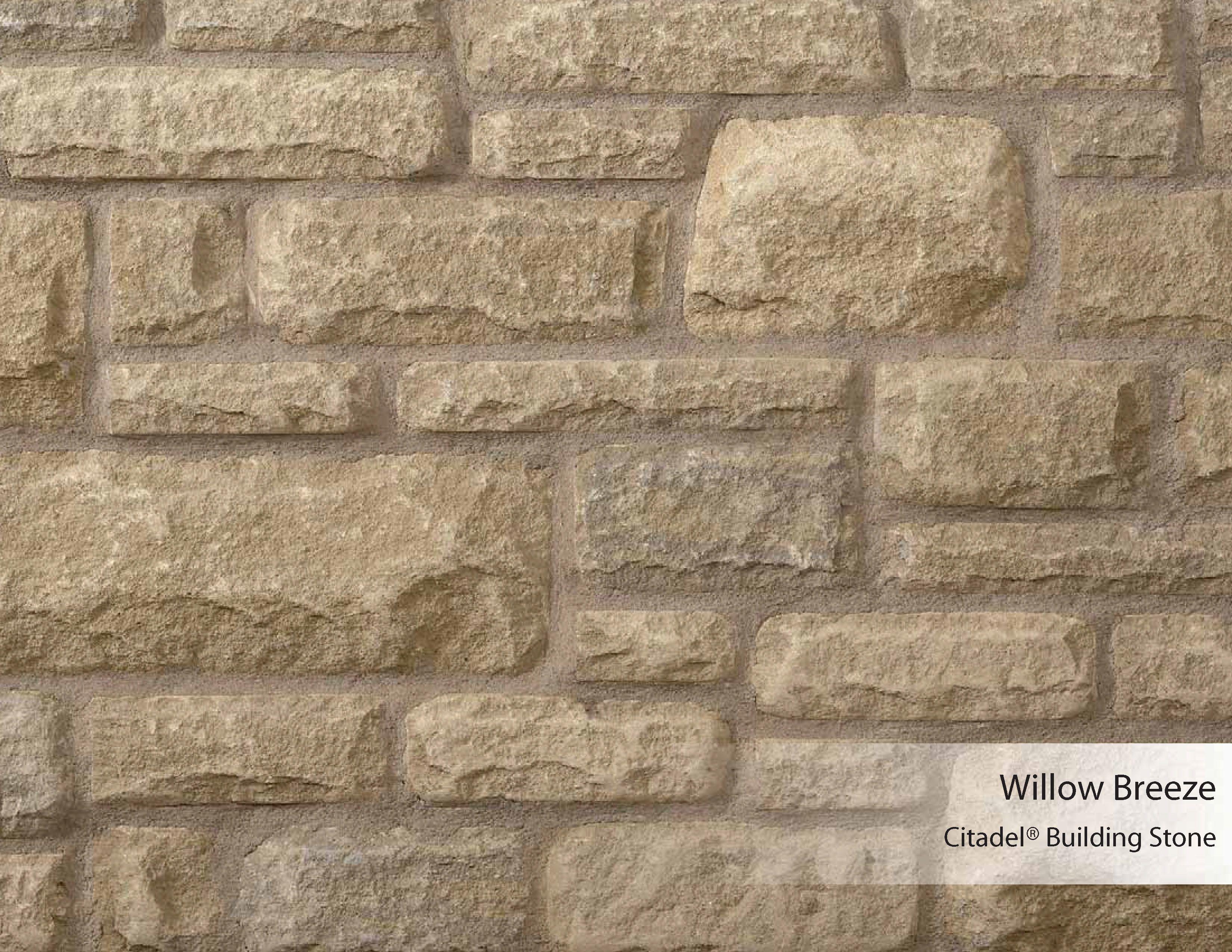 Citadel® Building Stone   Willow Breeze