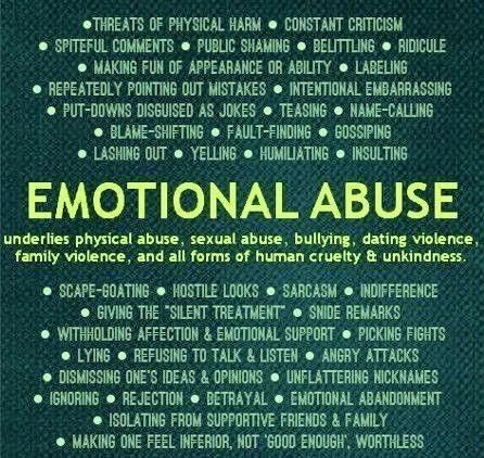 signs of an emotionally abused woman