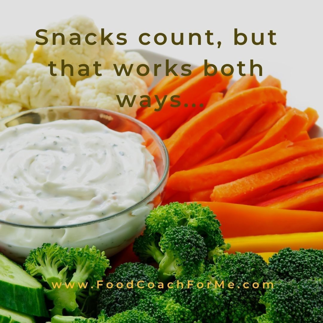 Is snacking bad?  Not necessarily! ⠀No snack has