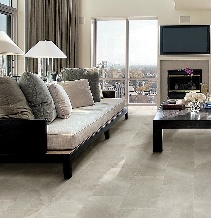 Palancia Pearl Is A 12 X 24 Porcelain Tile With A Custom Designed