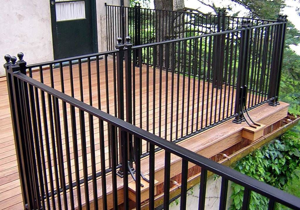 Captivating Image Of: Wrought Iron Deck Railing Designs   Railings   Pinterest   Deck  Railings, Railing Design And Railings