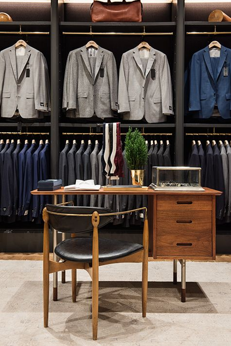 Todd Snyder Curates A Lifestyle For The Thoroughly Modern Man Clothing Store Design Suit Stores Men Store