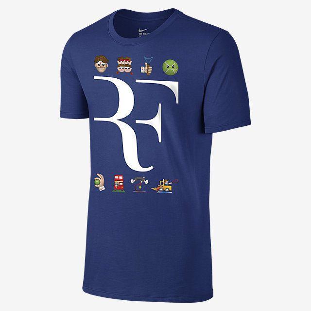 38e05f354787f NIKECOURT PREMIER RF EMOJI Tee-shirt pour Homme 30 € Roger Federer ...