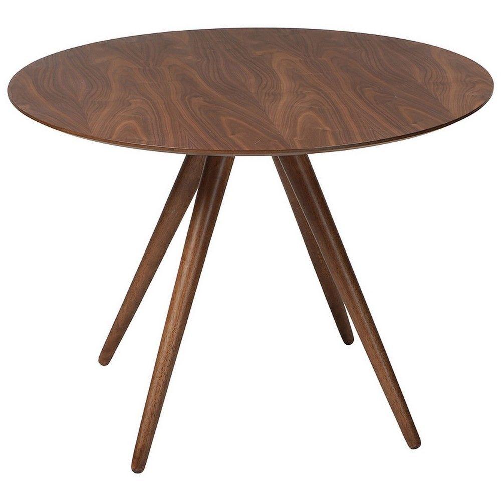Tisch Rund Mit Wallnussfurnier Esstische Rund Tische Runder