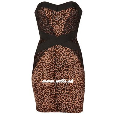 Dámske oblečenie | Dámske šaty | Little Mistress Leopard Lace Bodycon šaty multi | www.nells.sk - Parfumy, kozmetika a oblečenie svetových značiek.