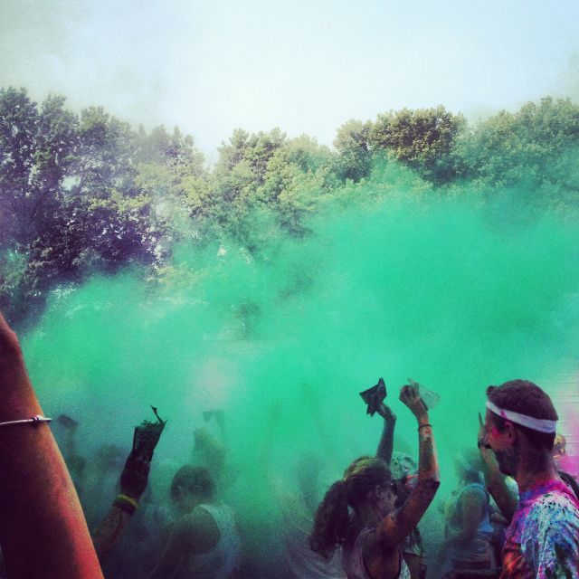 Philly color run 2012