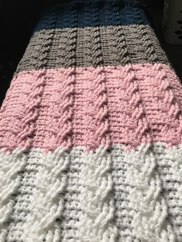 The Neapolitan French Braid Crochet Cable with FREE Pattern ...