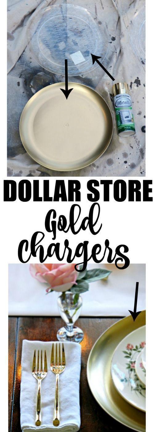 15 Elegant DIY Wedding Decor ideas from the Dollar store Kitchen