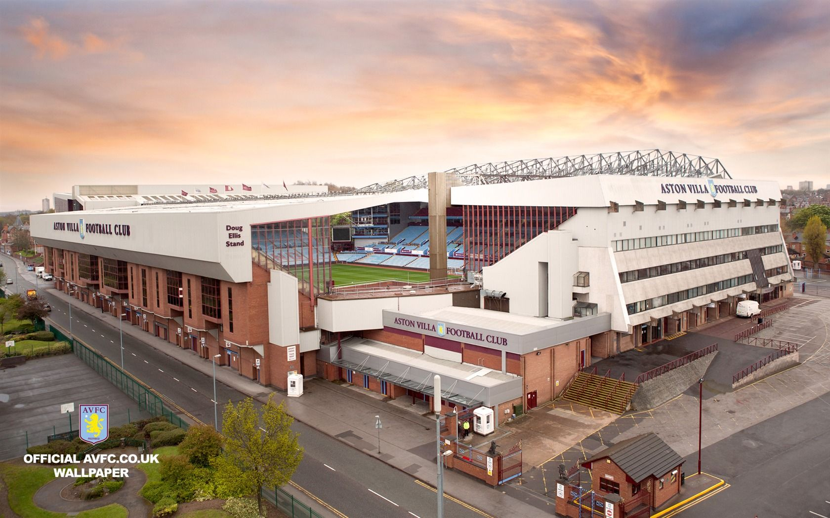 Aston villa f c villa park aston villa quiz villa for Villas wallpaper