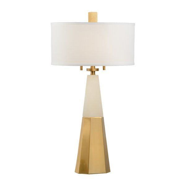 Youll love the winfield alabaster 34 5 table lamp at perigold enjoy white
