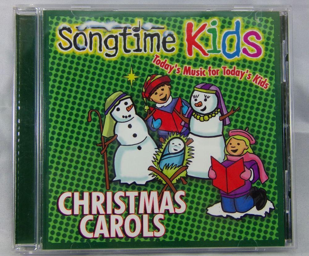 Songtime Kids Christmas Carols CD Classics Holiday Music | Christmas ...