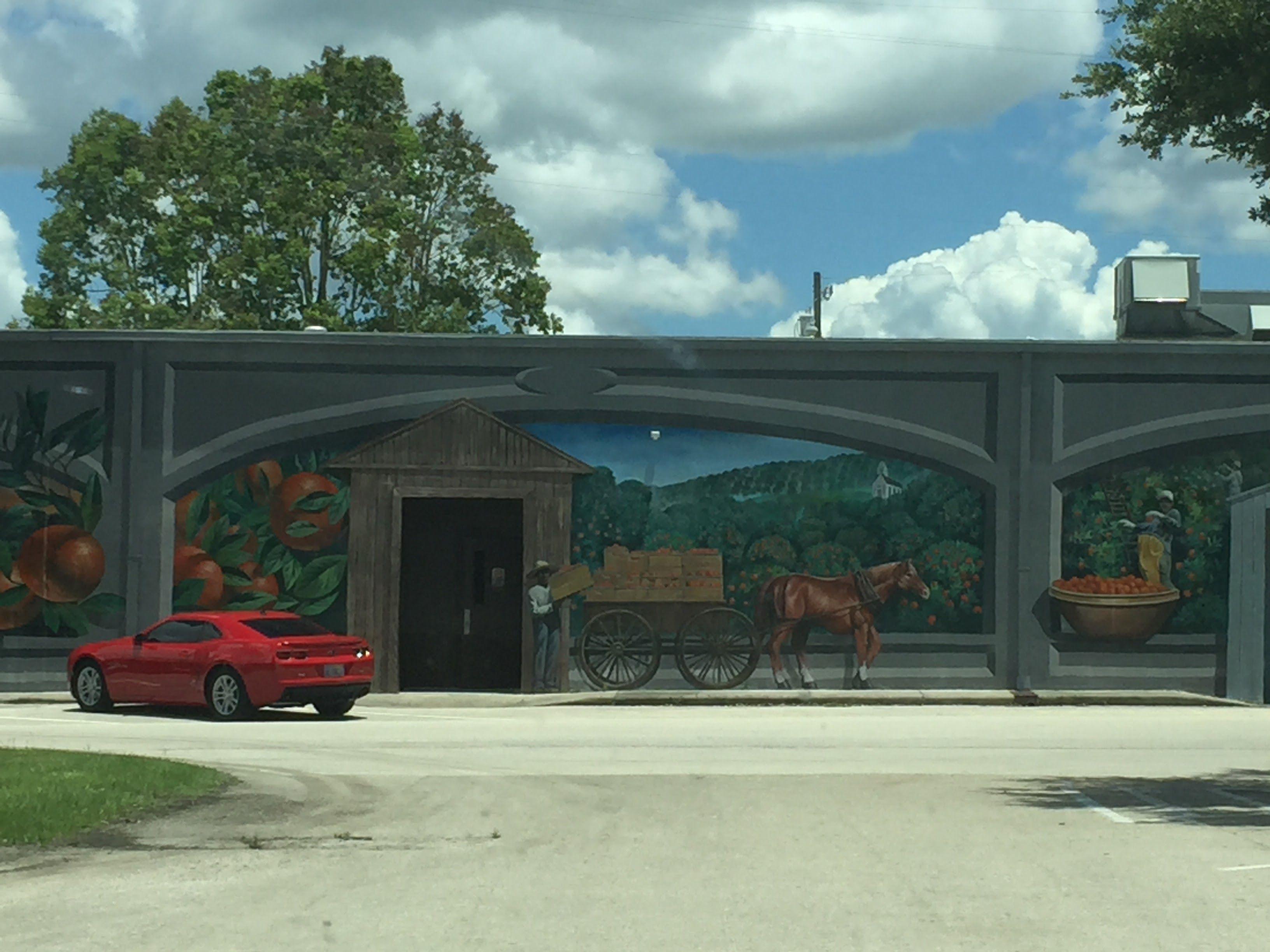 Sebring Fl The City Of Murals Sebring Florida Outdoor Structures Mural