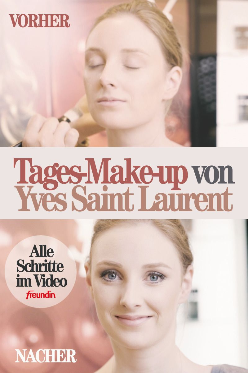 Video-Tutorial: Ein Tages-Make-up Schritt für Schritt