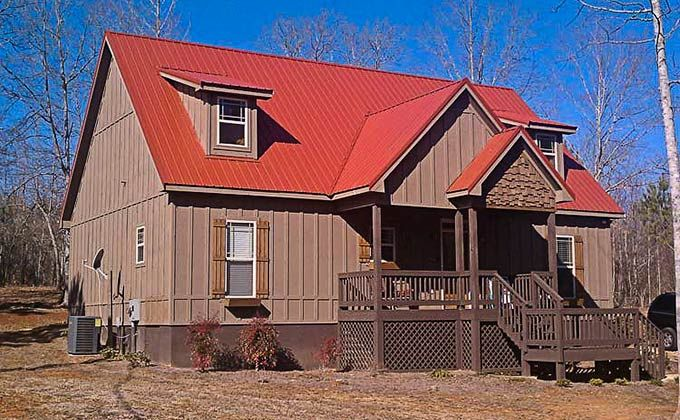 Dog Trot House Plan Porch house plans Cottage house plans Lake house plans