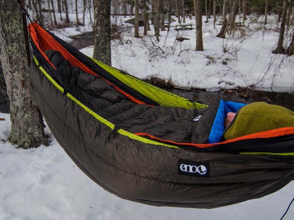 ENO Blaze Underquilt- for hanging when it's cold.