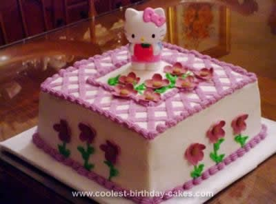 Coolest Gorgeous Hello Kitty Birthday Cake Hello kitty birthday