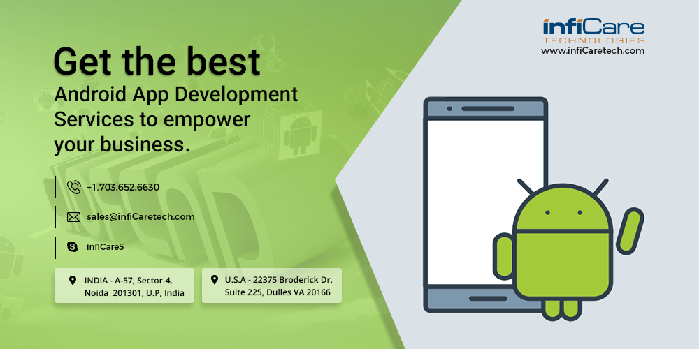 Best Android App Development Company in the USA, India