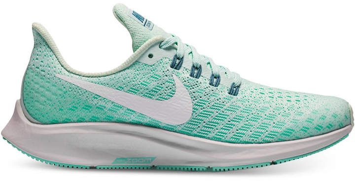 separation shoes 89e2a 1313a Nike Girls' Air Zoom Pegasus 35 Running Sneakers from Finish ...