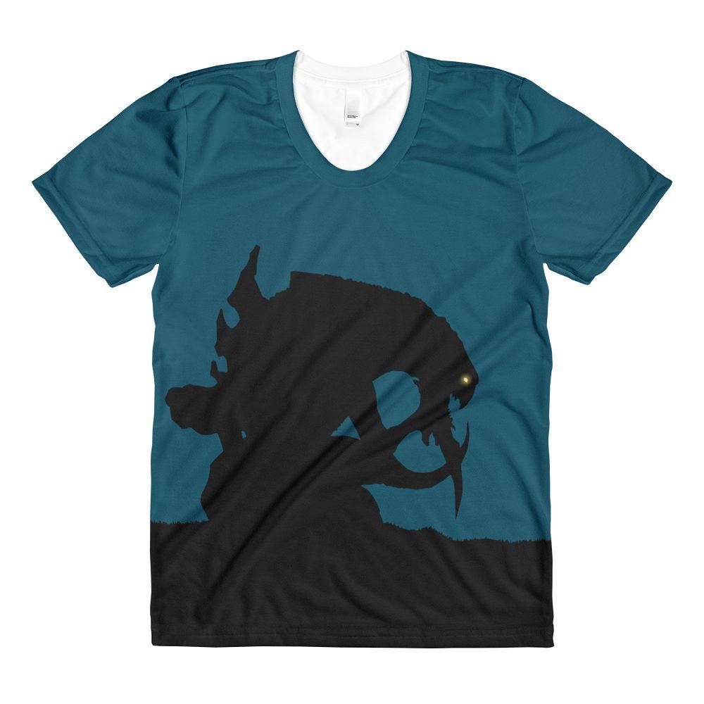 Zerg vs Protoss Sublimation Women's Crewneck T-shirt
