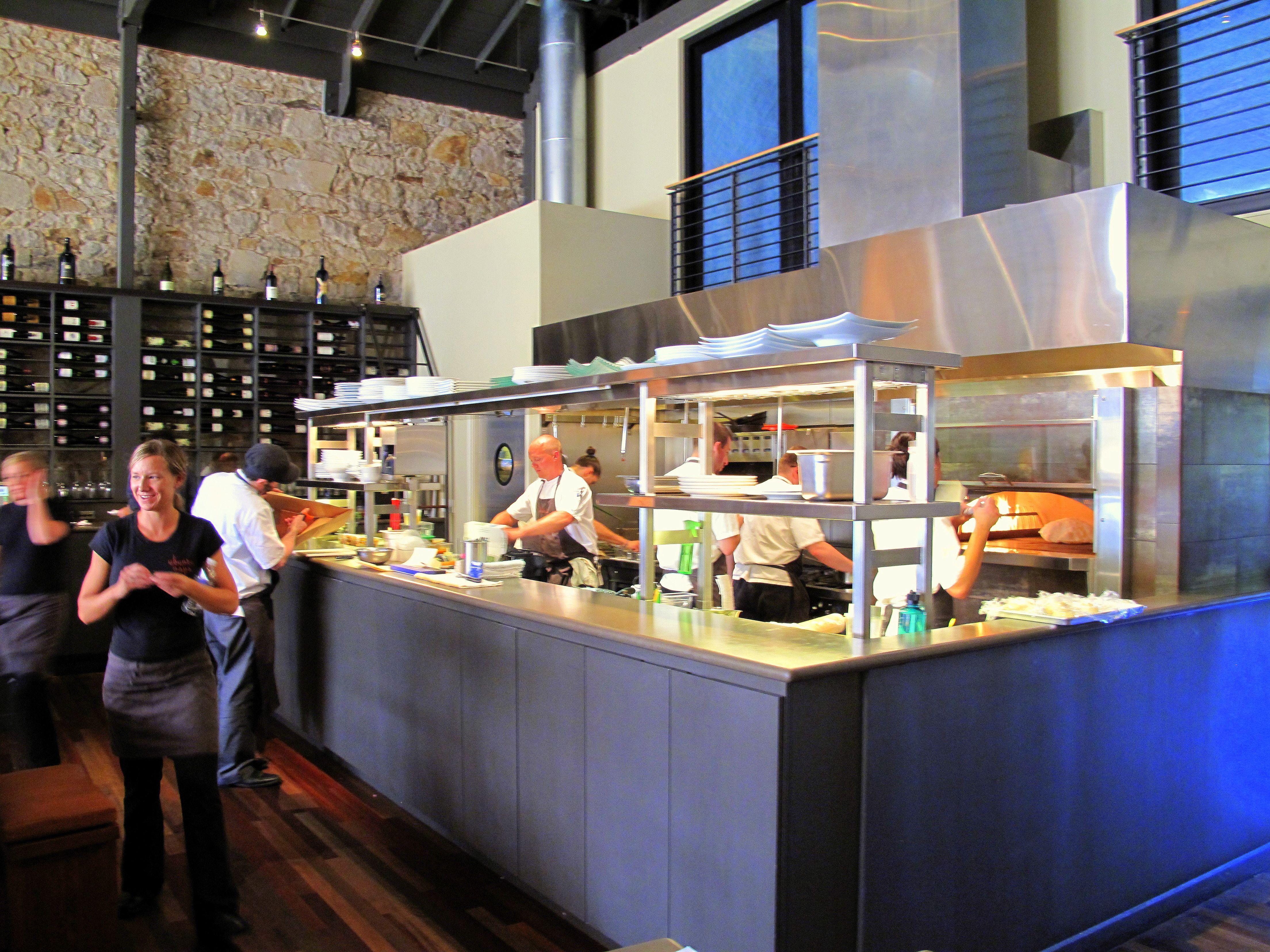 Ubuntu Napa Restaurant Open Kitchen Restaurant Simple Kitchen