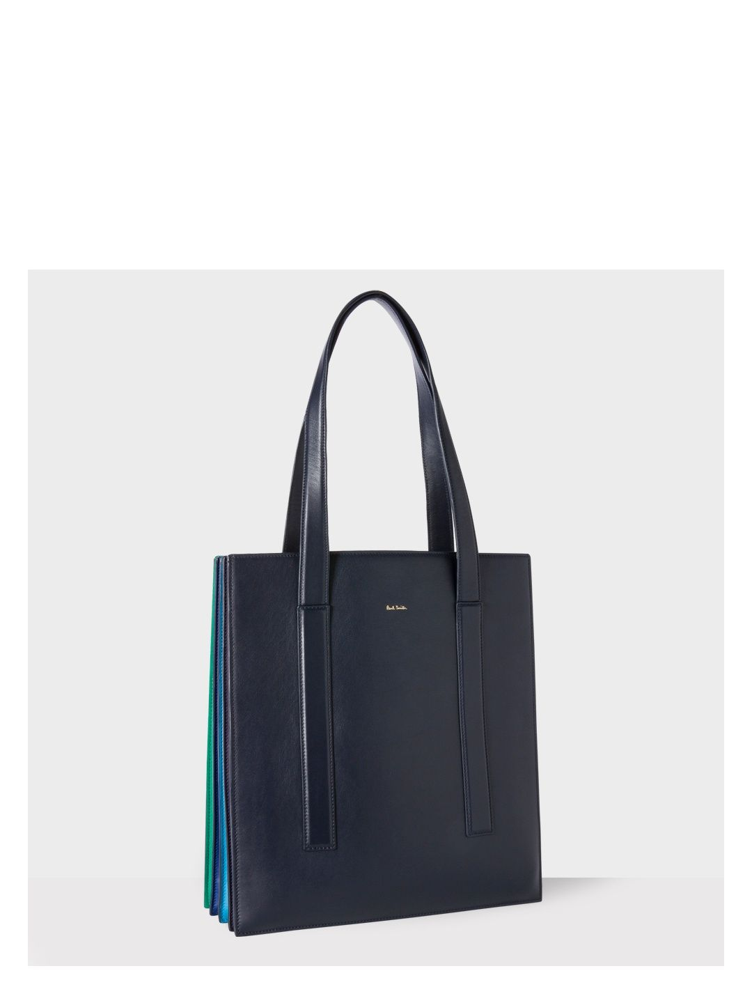f9167438f4be32 Paul Smith Women s Navy  Concertina  Tote Bag Image 0