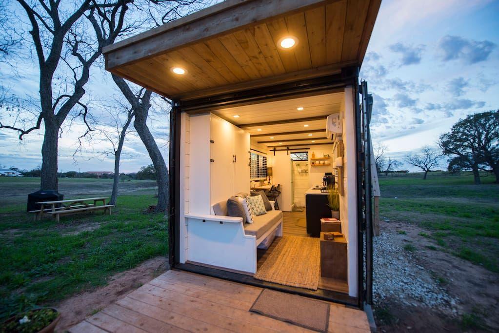 Elegant Container Home Tiny House 1 Near Magnolia Tiny