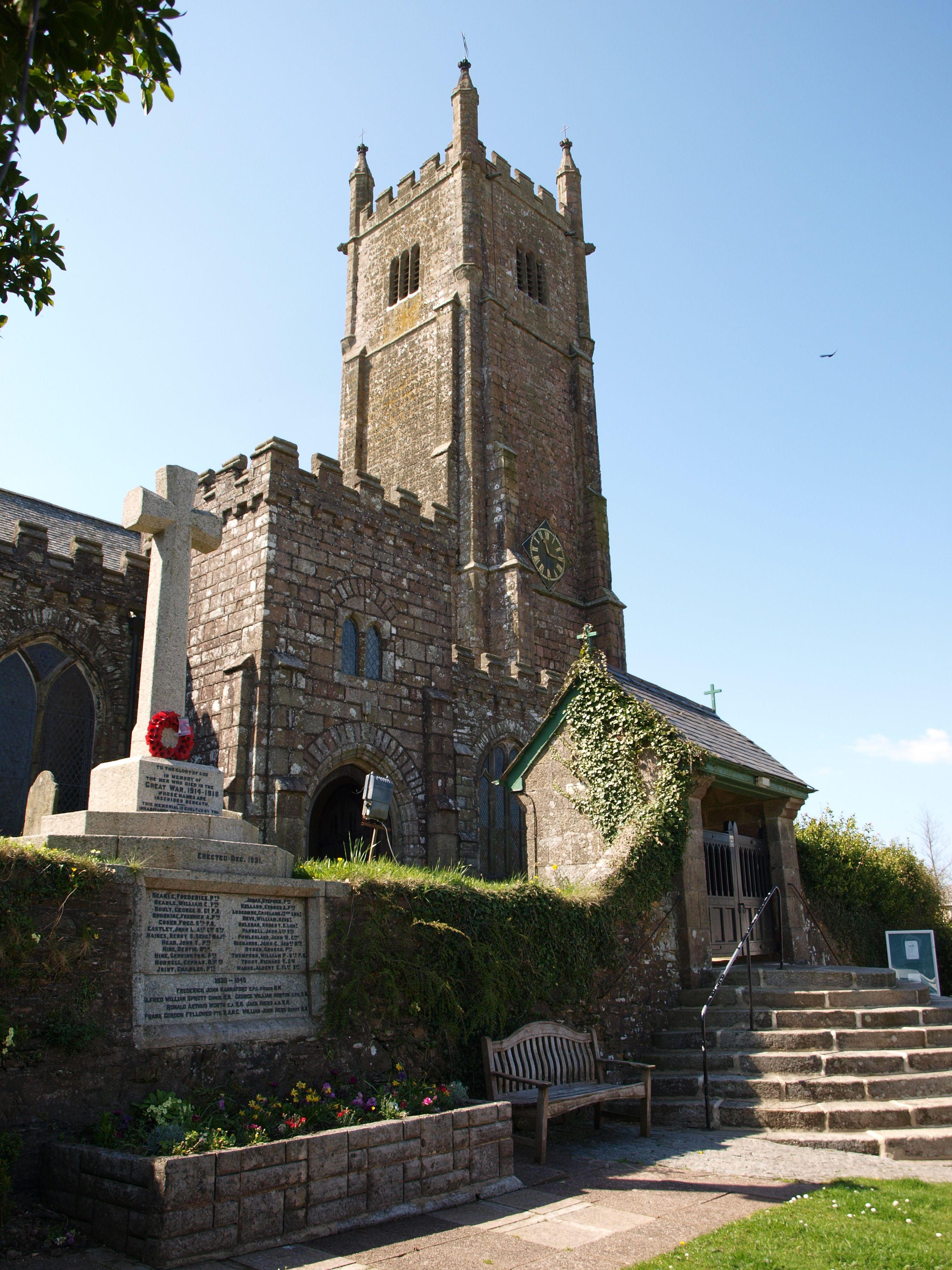 St Peters Church, Ugborough, South Devon. Churches and