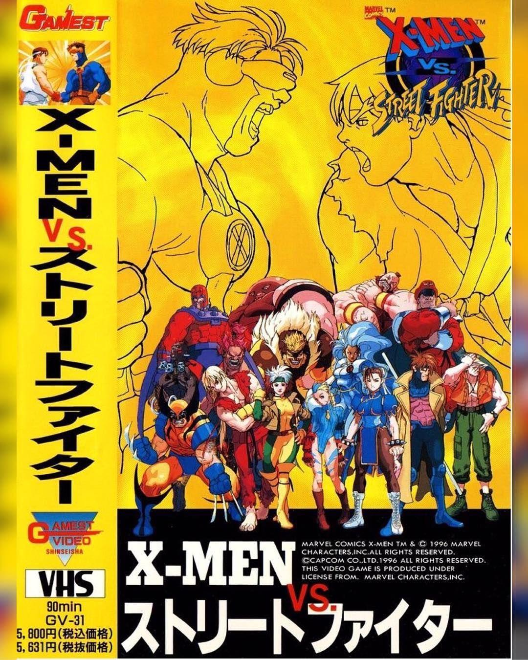 Still The Best Game X Men Vs Street Fighter Download Images At Nomoremutants Com Tumblr Com Key Film Dates Guardians O Capcom Art Capcom Vs Street Fighter