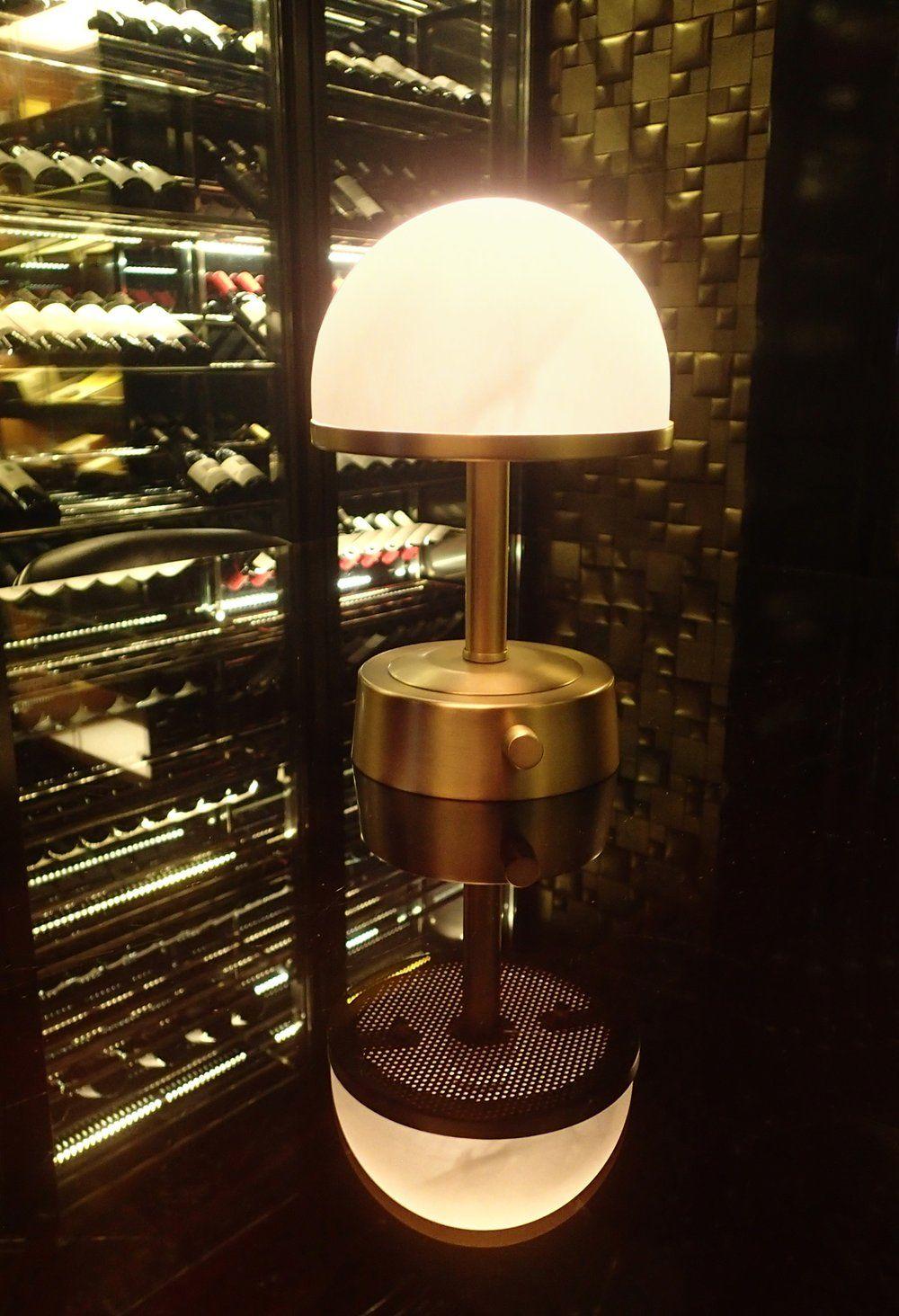 Art Deco Cordless Lamp Antique Br