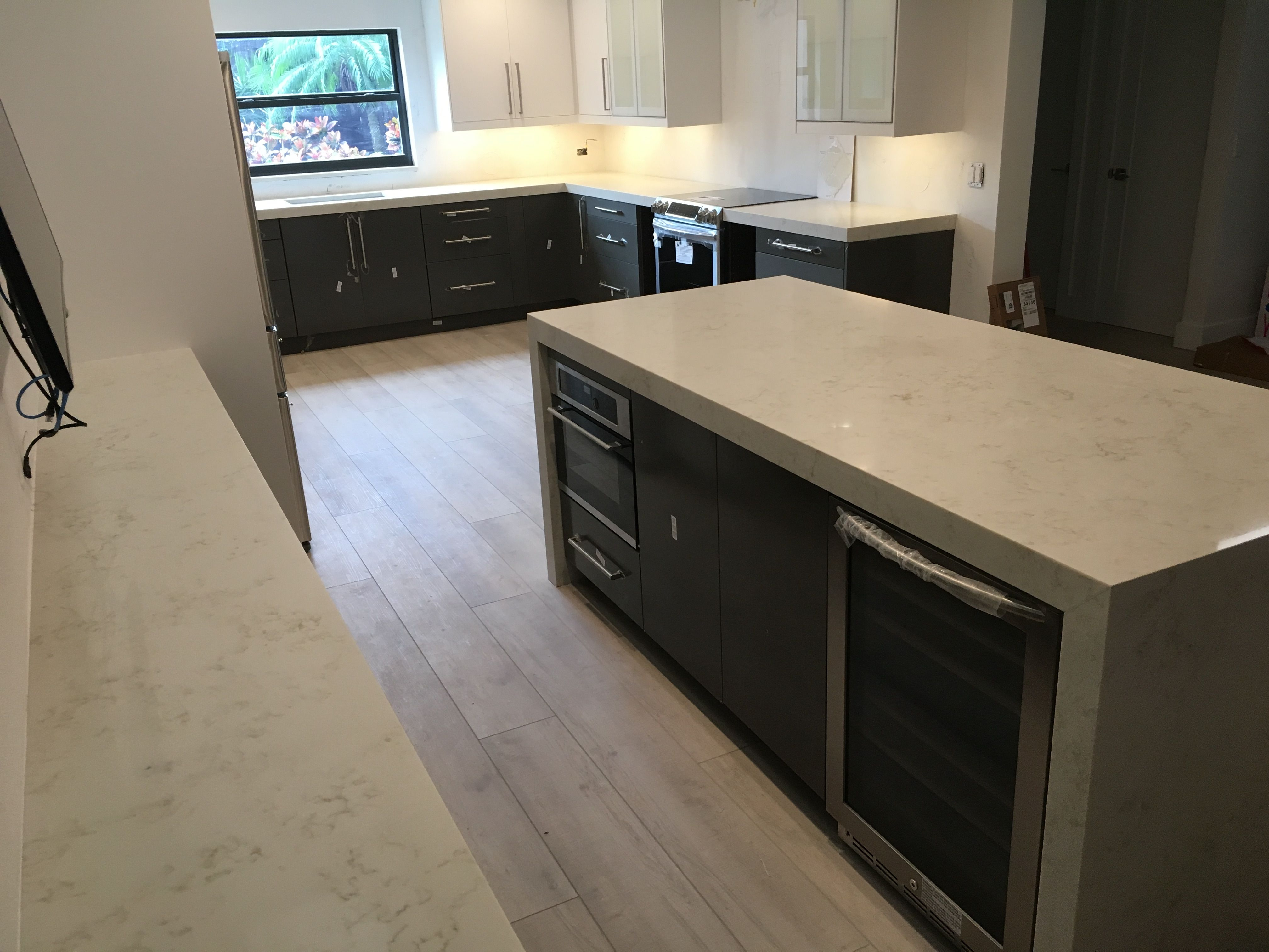 Quartz Kitchen Countertops Boca Raton Florida We Fabricated And