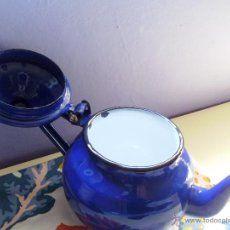 cafetera porcelana esmaltada-antigua- - Comprar Utensilios del Hogar Antiguos en todocoleccion - 45557153