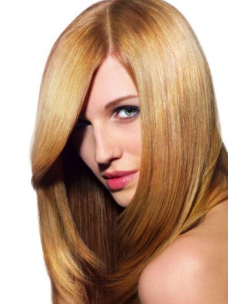 Langhaar  Langhaar Frisuren  Lange Haare Seitenscheitel