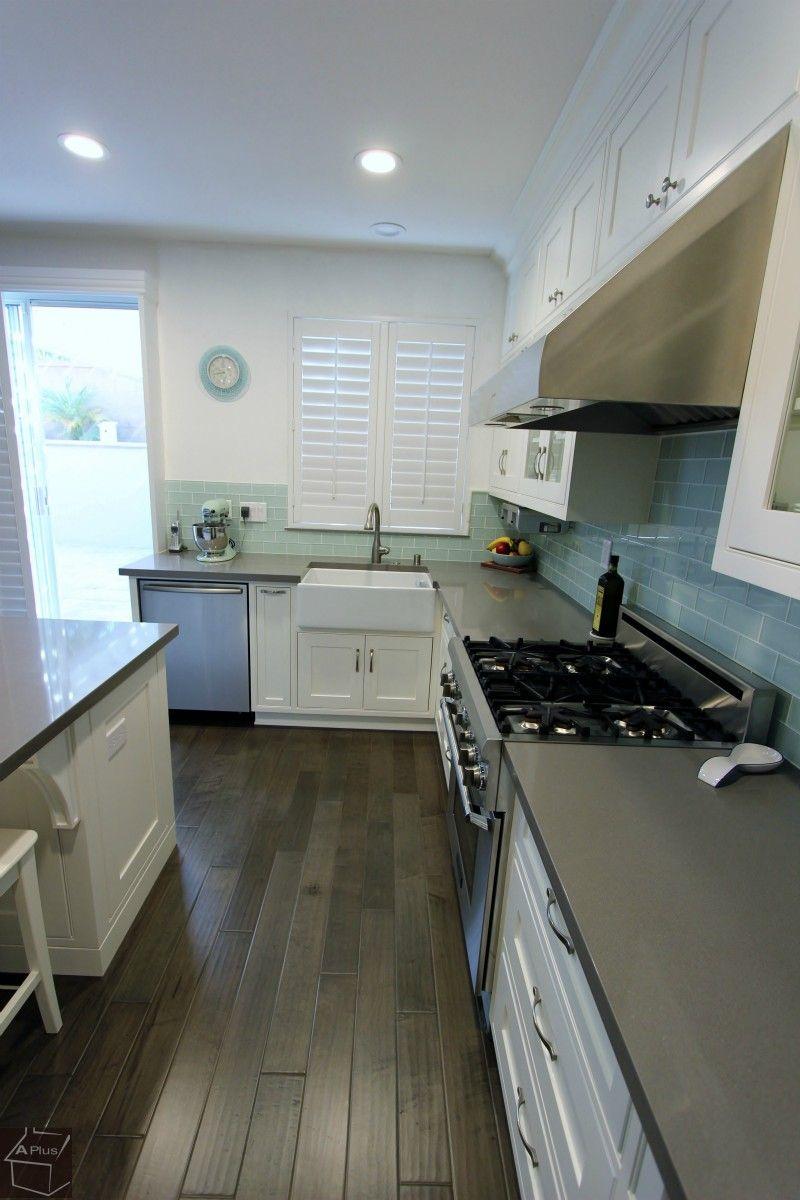 Orange County Irvine Kitchen Remodel With Custom Cabinets Custom Kitchen Cabinets Kitchen Remodel Kitchen
