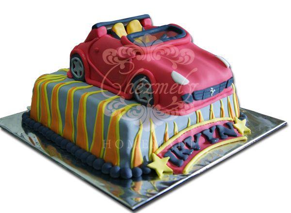 Sport Car Cake Decorating Cake Desserts
