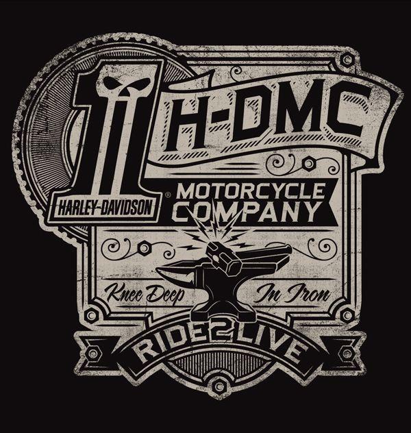 Harley-Davidson Illustrations | Motorräder, Glücklich und Sprüche
