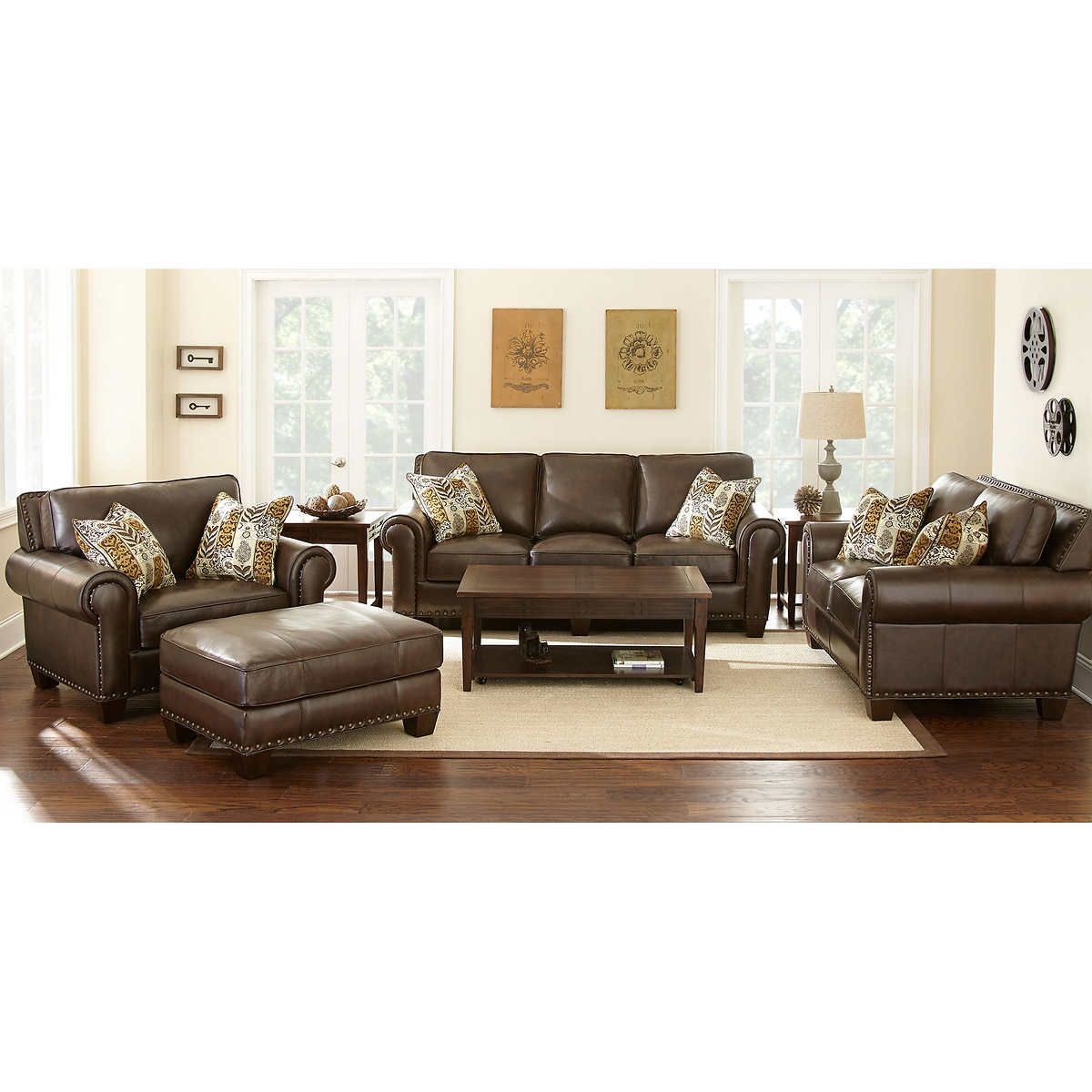 Natuzzi Group Leather Sofa Costco With Down Filled Cushions Name Brand Sofas | Www.energywarden.net