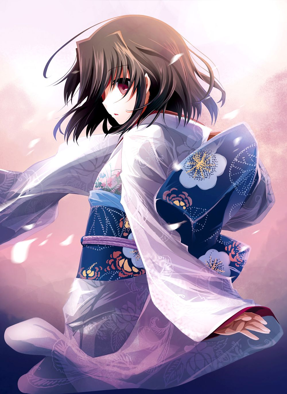 Animation Art Characters Japanese Anime Animation Art Characters Figure New No Box Kara No Kyoukai The Garden Of Sinners Shiki Ryougi Kimono Ver Other Anime Collectibles Zsco Iq