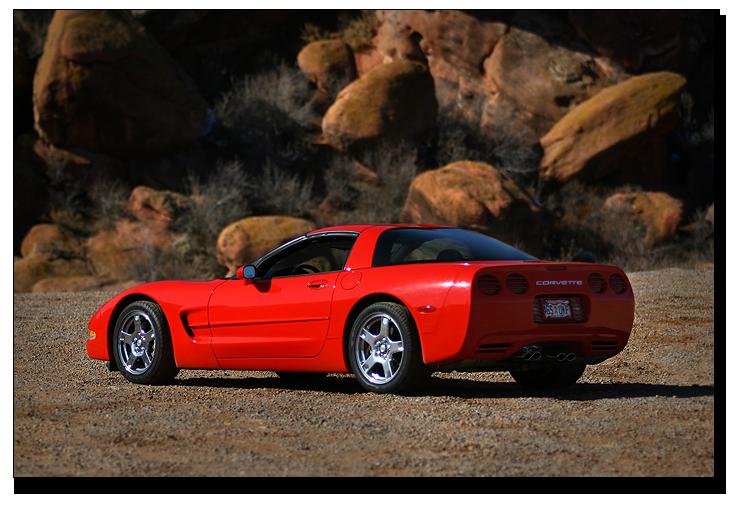 C5 Corvette, very similar to my Corvette